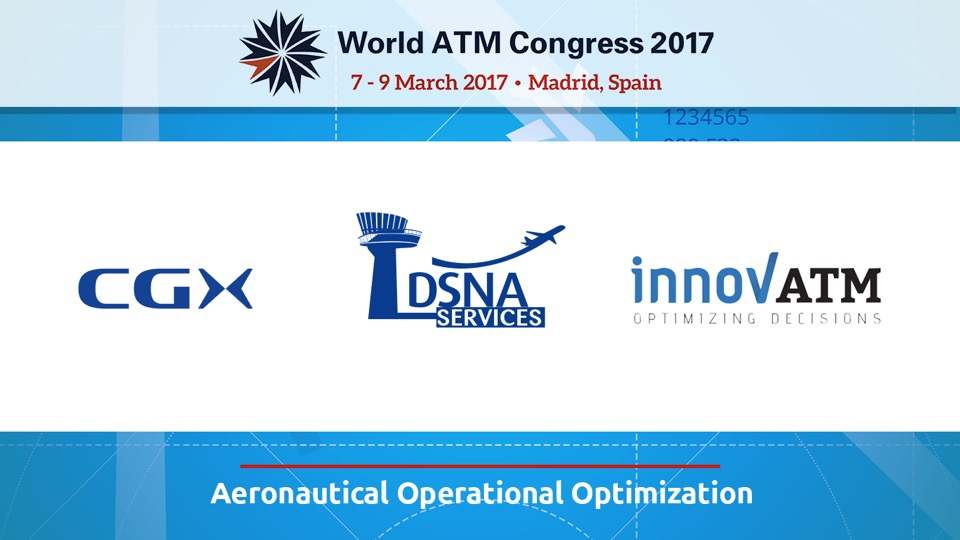 Innov'ATM will be exhibiting at the World ATM Congress in Madrid from 7-9 March 2017 – booth #473