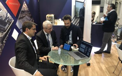 Innov'ATM presented GONE at the Passenger Terminal Expo in London