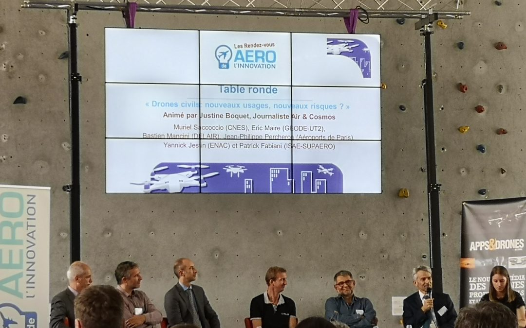 Drones and their uses at the RDV Aero Innovation by ISAE-Supaero and ENAC