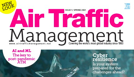 Air Traffic Management Spring 2021 Cover